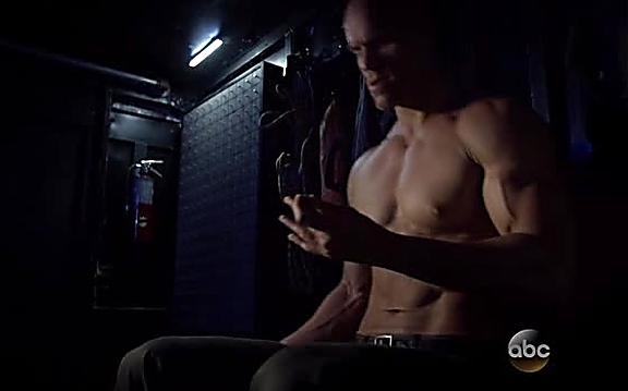Brian Patrick sexy shirtless scene September 29, 2014, 8pm