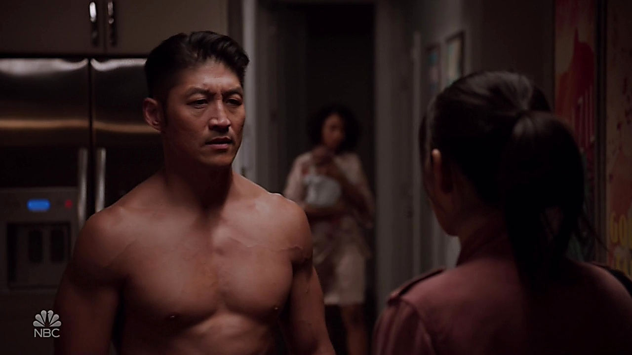 Brian Tee sexy shirtless scene May 26, 2019, 12pm