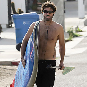 Brody Jenner latest sexy shirtless November 15, 2019, 8am