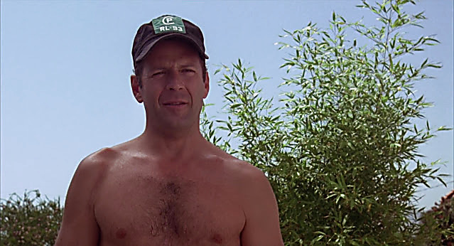 Bruce Willis sexy shirtless scene March 18, 2021, 9am