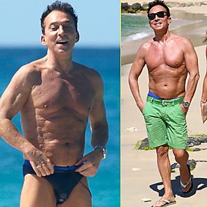 Bruno Tonioli latest sexy shirtless December 26, 2018, 10pm