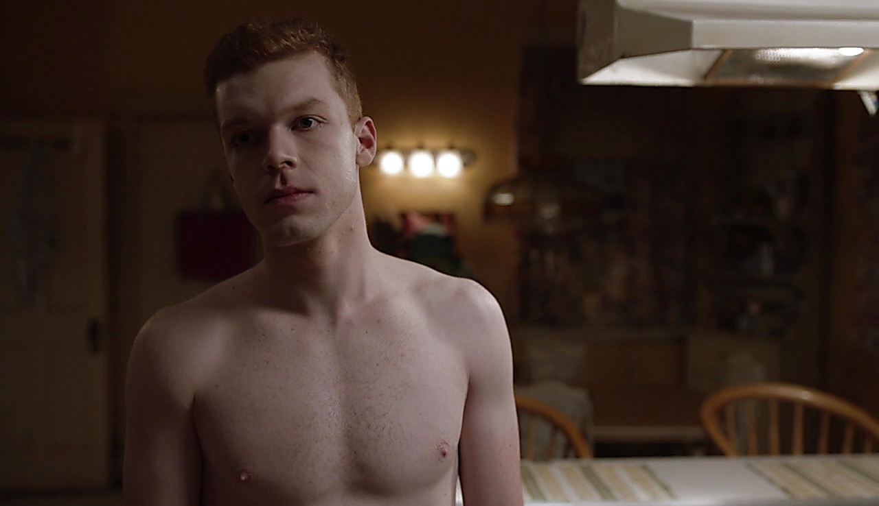 Cameron Monaghan sexy shirtless scene November 13, 2017, 3pm
