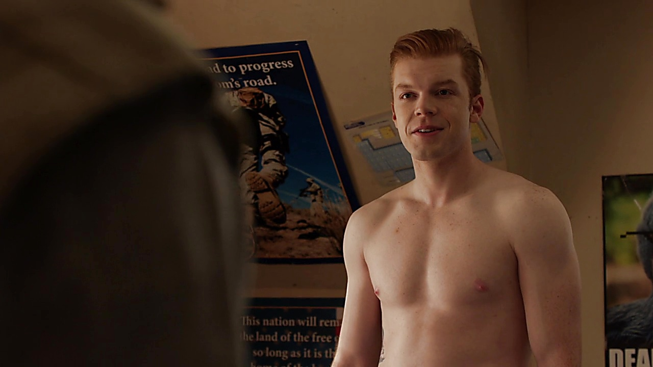Cameron Monaghan sexy shirtless scene December 15, 2019, 11am