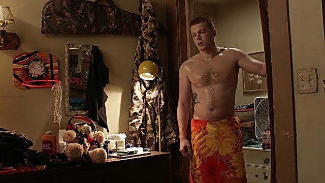 Cameron Monaghan sexy shirtless scene January 10, 2021, 11am