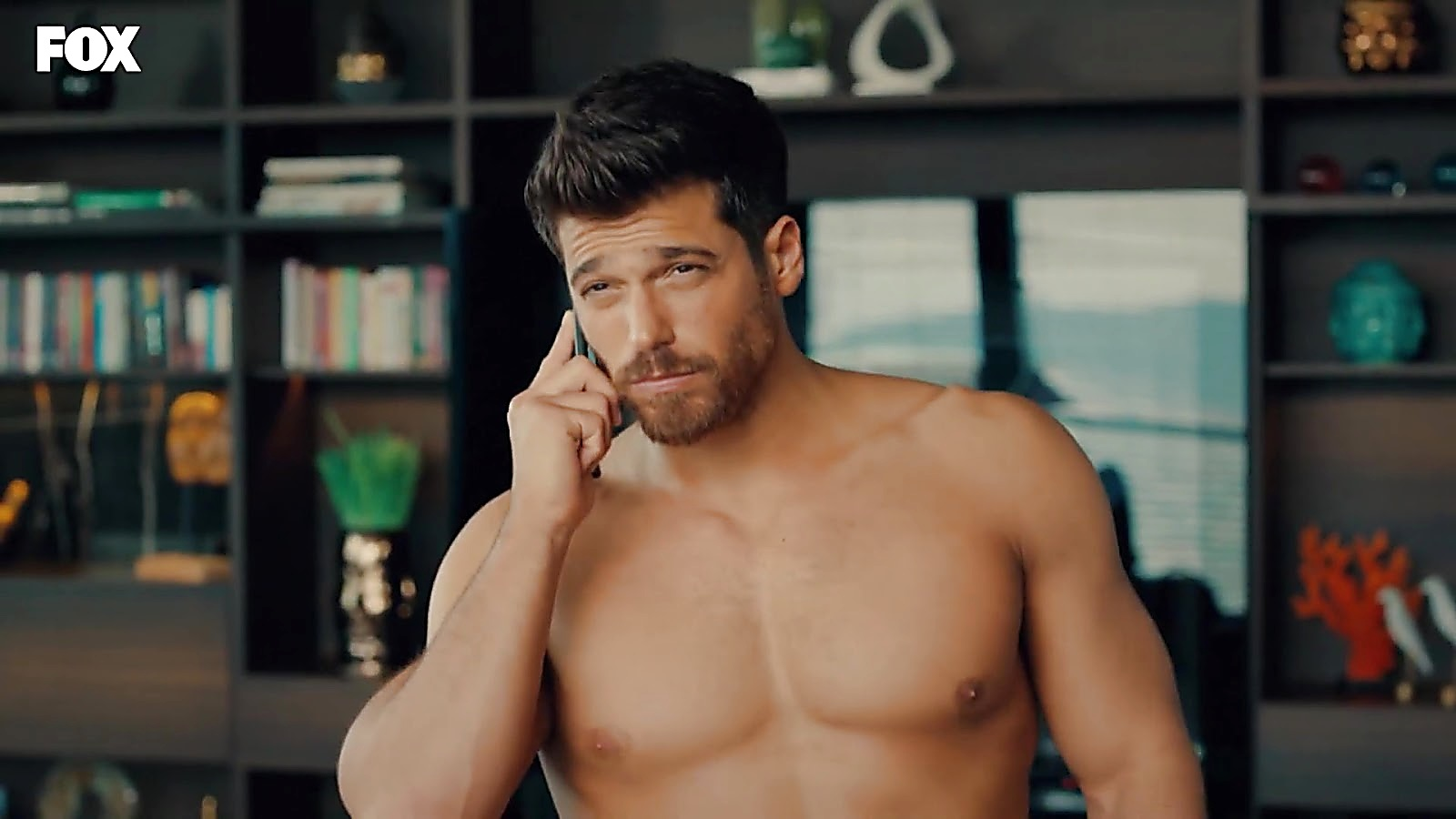 Can Yaman sexy shirtless scene July 5, 2020, 1pm