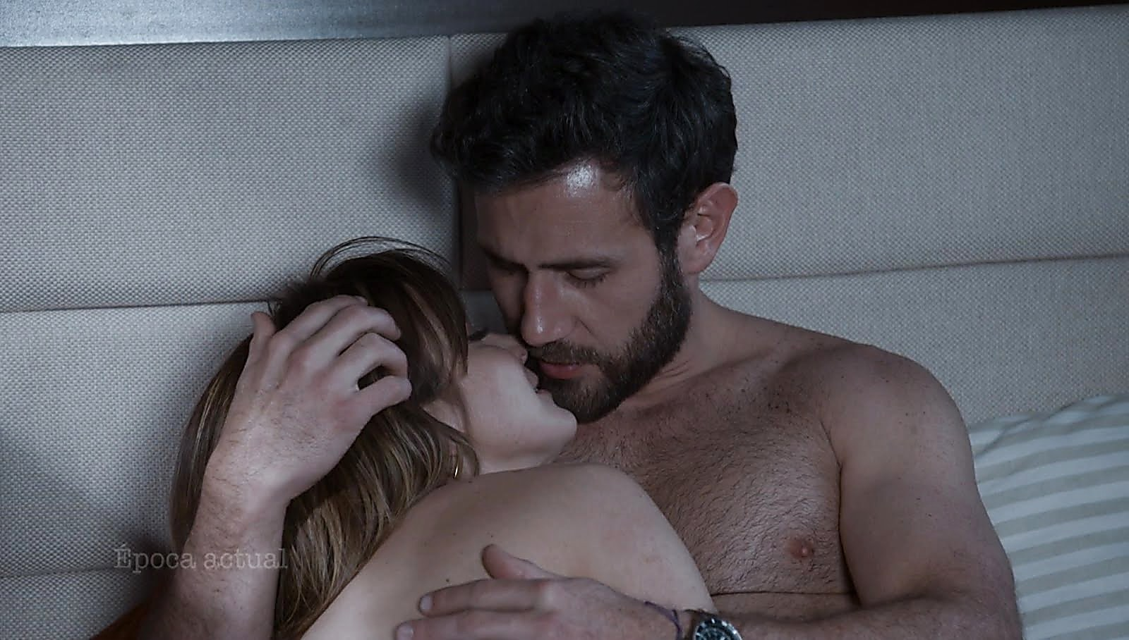 Carlos Ferro sexy shirtless scene March 7, 2018, 1pm