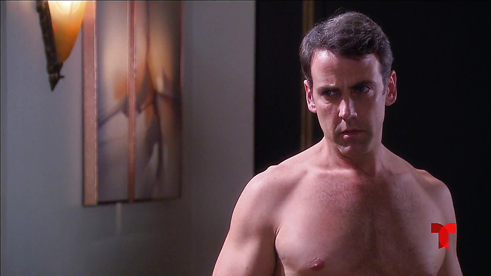 Carlos Ponce sexy shirtless scene July 2, 2020, 5am