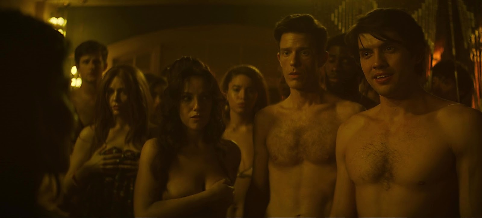 Carter Jenkins sexy shirtless scene August 7, 2020, 3pm
