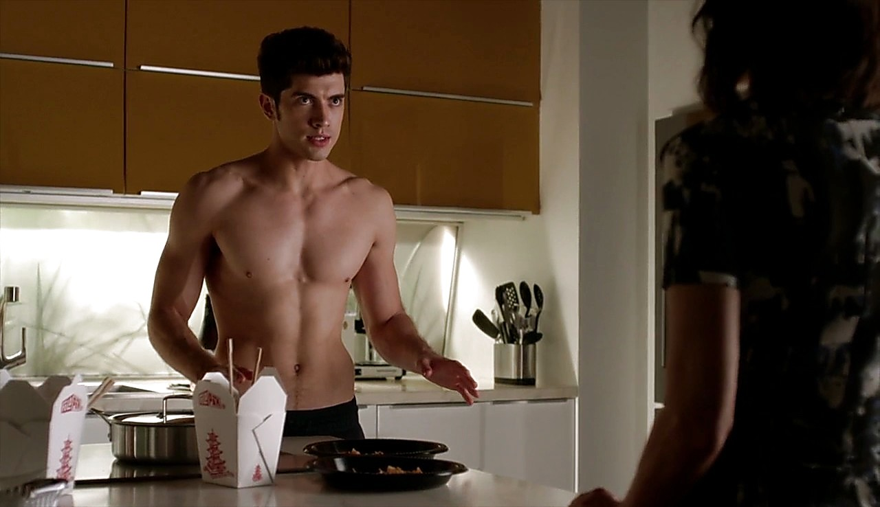 Carter Jenkins latest sexy shirtless scene April 19, 2017, 1pm