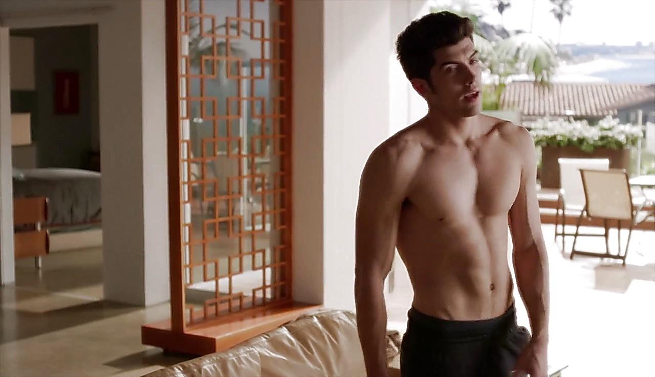 Carter Jenkins sexy shirtless scene April 19, 2017, 1pm