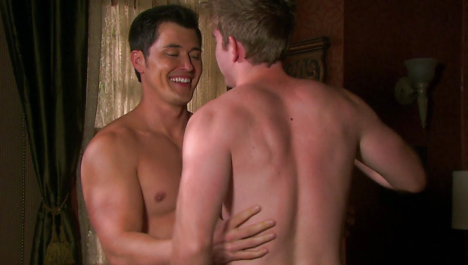 Chandler Massey sexy shirtless scene March 30, 2018, 11am