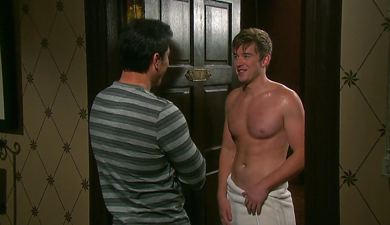 Chandler Massey sexy shirtless scene May 9, 2018, 1pm