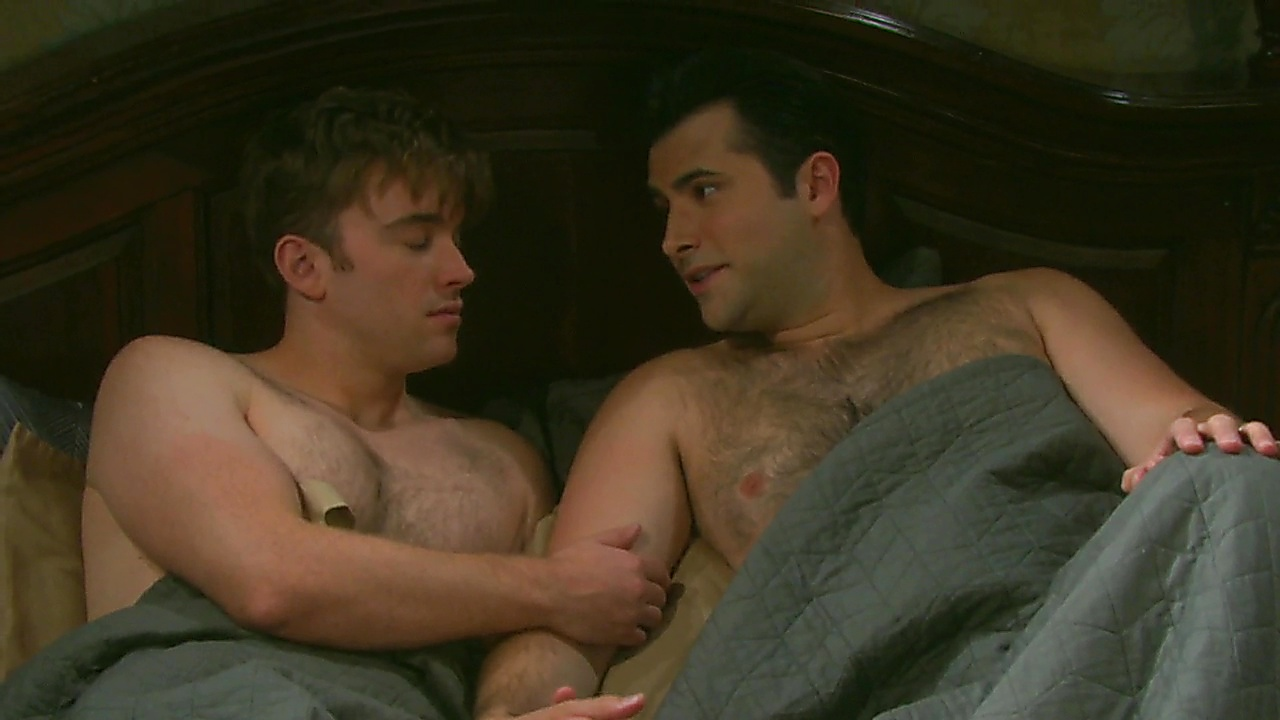 Chandler Massey sexy shirtless scene March 13, 2019, 2pm