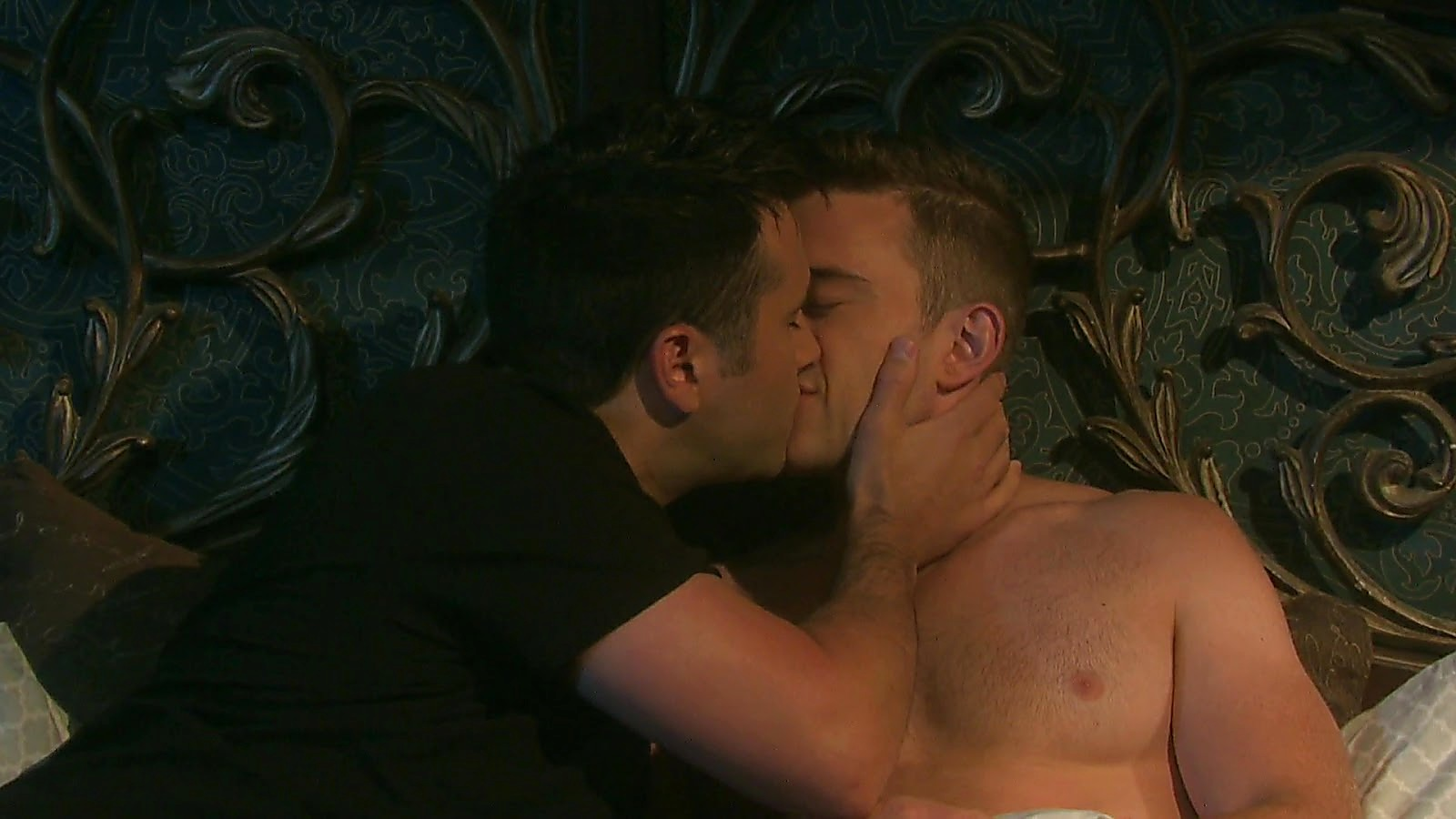 Chandler Massey sexy shirtless scene March 21, 2020, 9am
