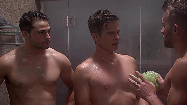 Chandler Massey sexy shirtless scene September 10, 2021, 3am
