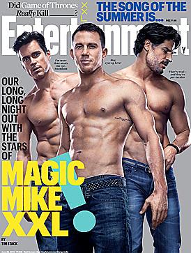 Channing Tatum latest sexy shirtless June 18, 2015, 1pm