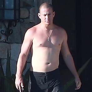 Channing Tatum latest sexy shirtless April 2, 2019, 9pm