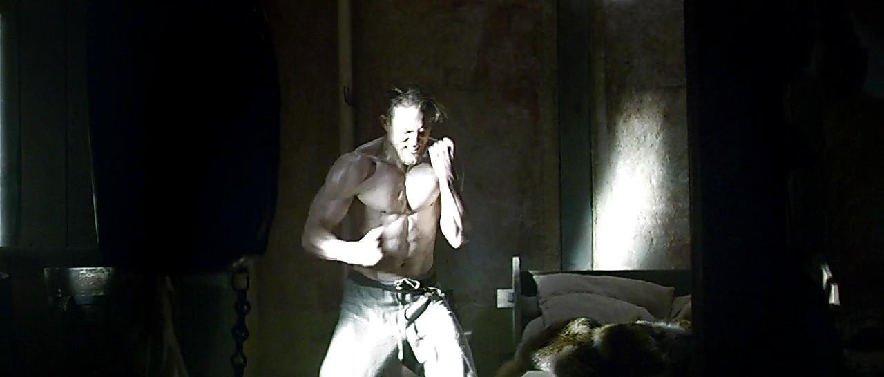 Charlie Hunnam sexy shirtless scene July 25, 2017, 11am