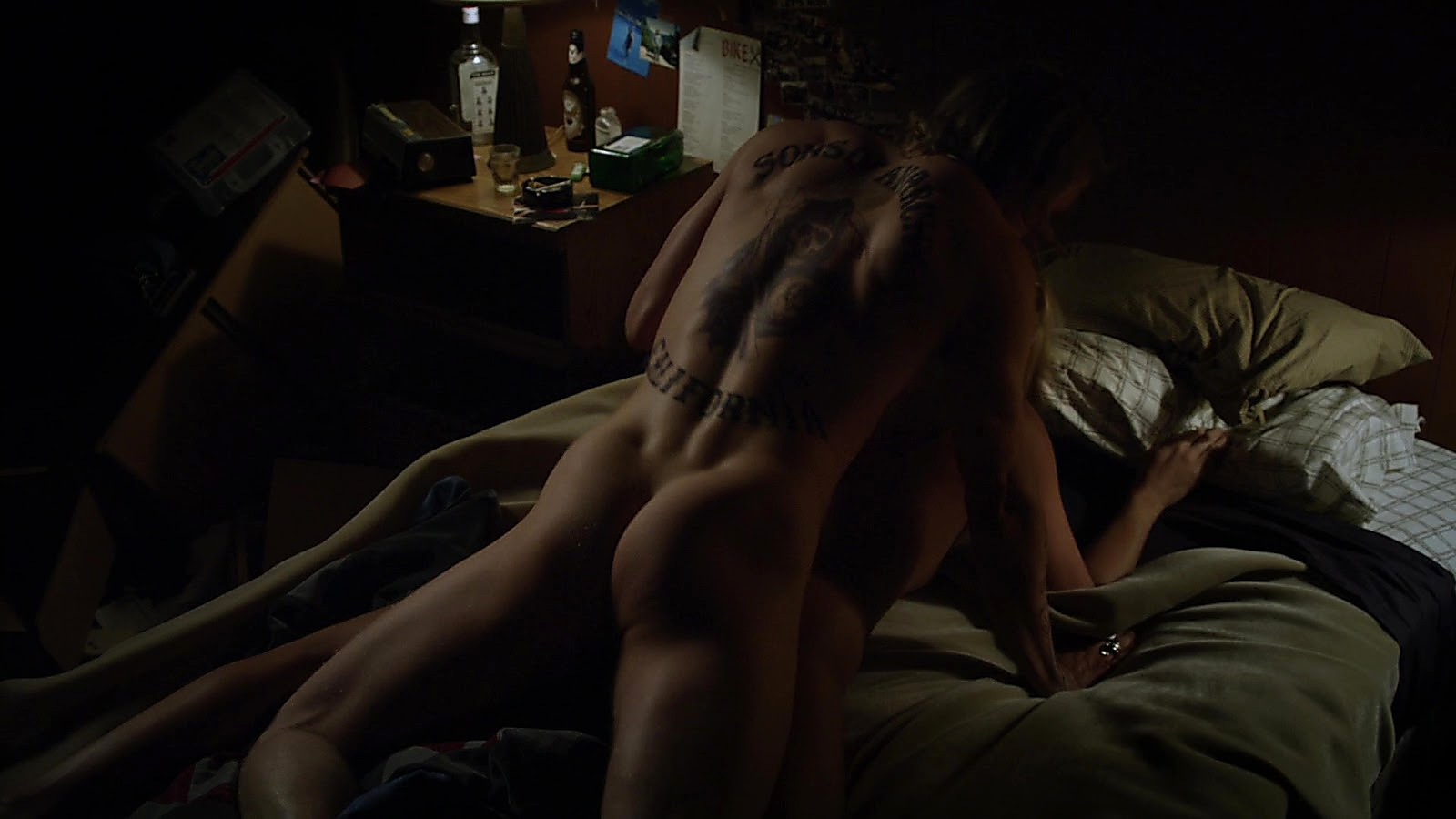 Charlie Hunnam sexy shirtless scene April 24, 2020, 5am