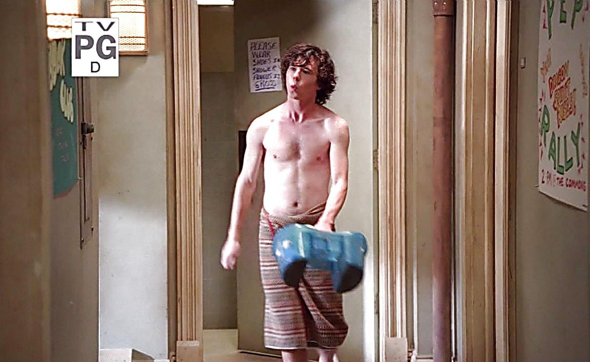 Charlie Mcdermott sexy shirtless scene January 26, 2014, 4pm