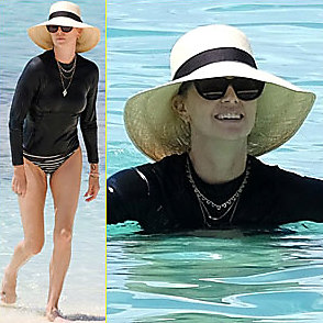 Charlize Theron latest sexy shirtless August 17, 2018, 5pm