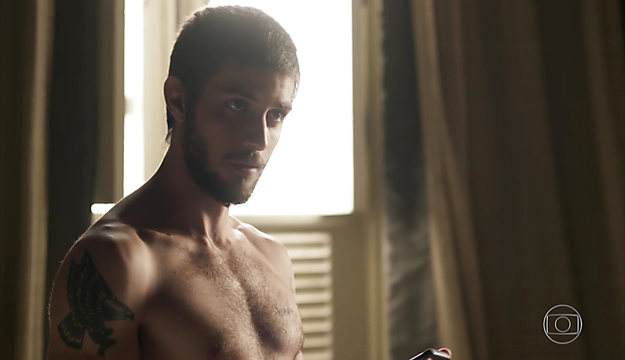 Chay Suede sexy shirtless scene June 13, 2018, 12pm
