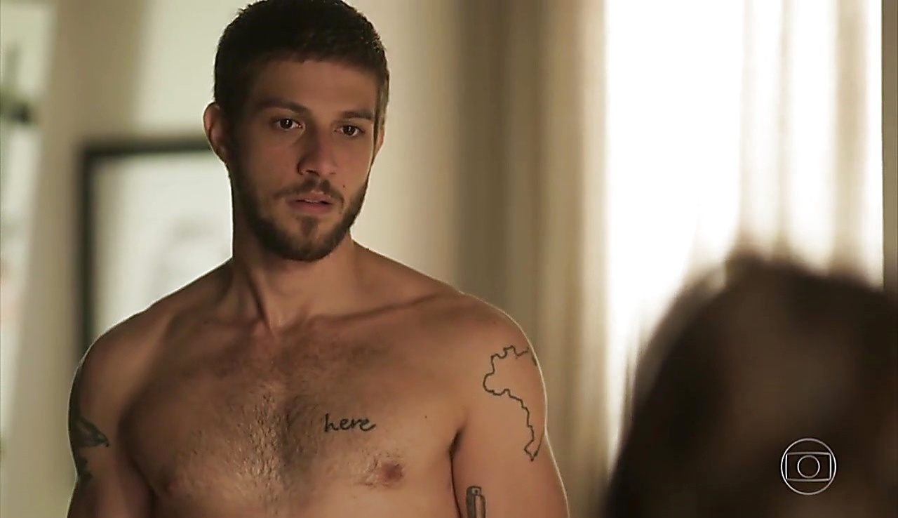 Chay Suede sexy shirtless scene May 29, 2018, 1pm