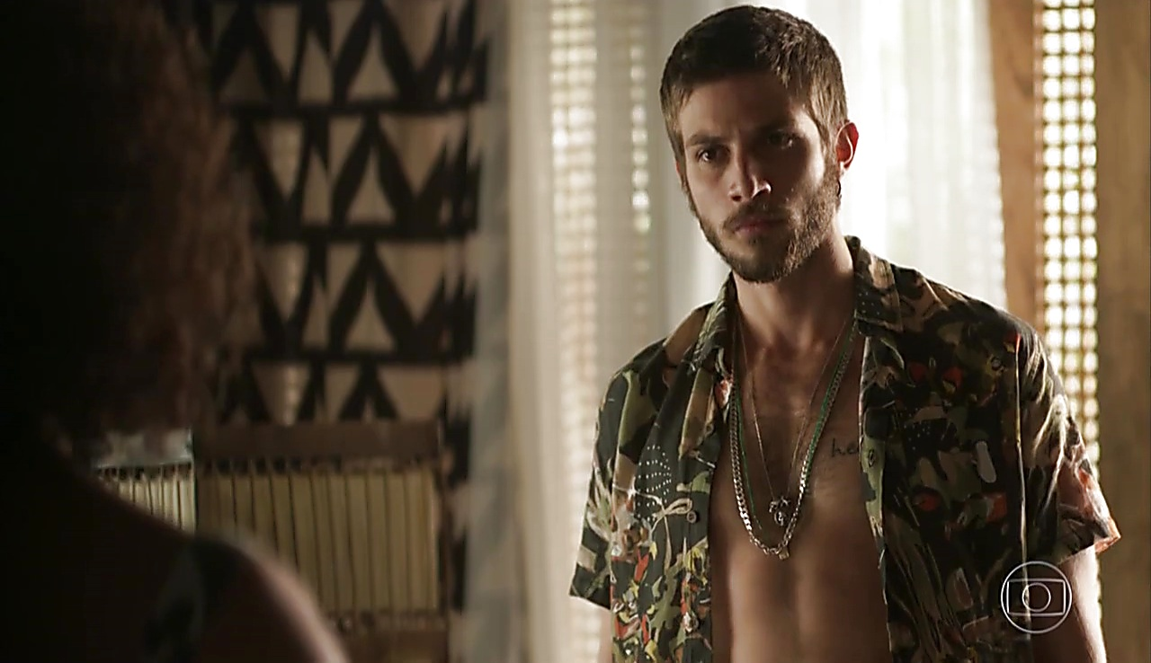 Chay Suede sexy shirtless scene June 24, 2018, 1pm