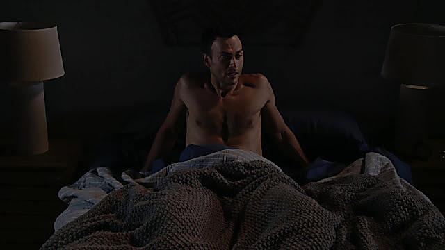 Cheyenne Jackson sexy shirtless scene January 31, 2021, 6am