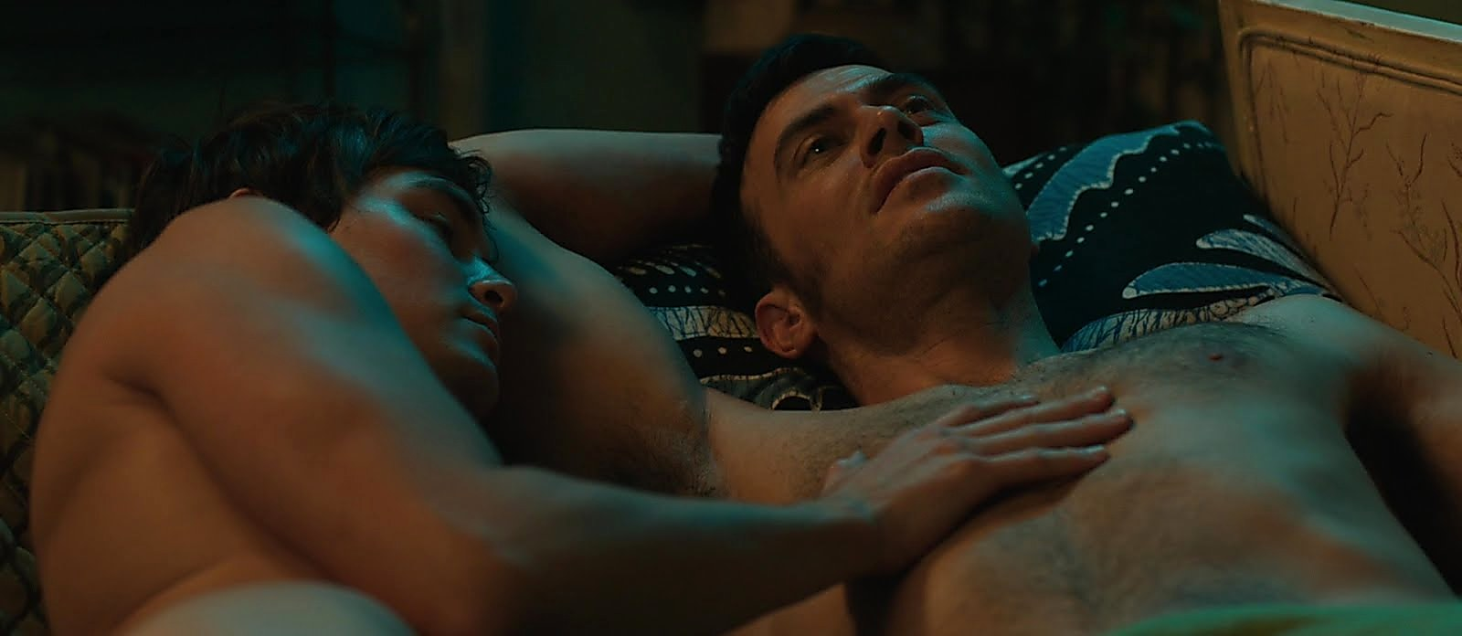 Cheyenne Jackson sexy shirtless scene July 16, 2018, 1pm