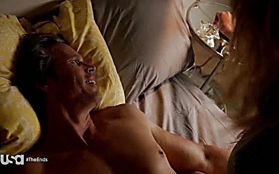 Chris Browning sexy shirtless scene August 10, 2014, 10pm