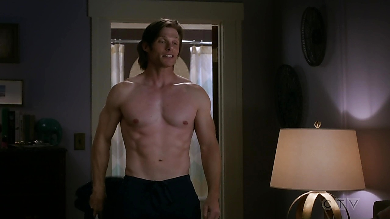 Chris Carmack sexy shirtless scene September 27, 2018, 3pm