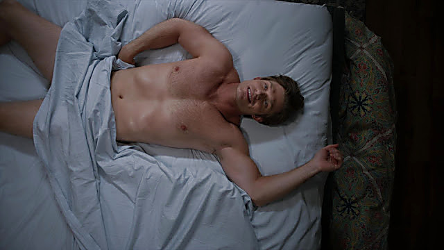 Chris Carmack sexy shirtless scene November 13, 2020, 5am