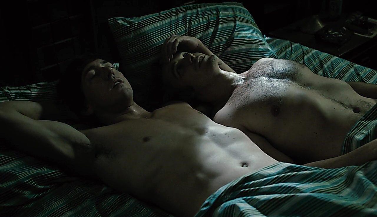 Chris Coy sexy shirtless scene October 25, 2017, 12pm