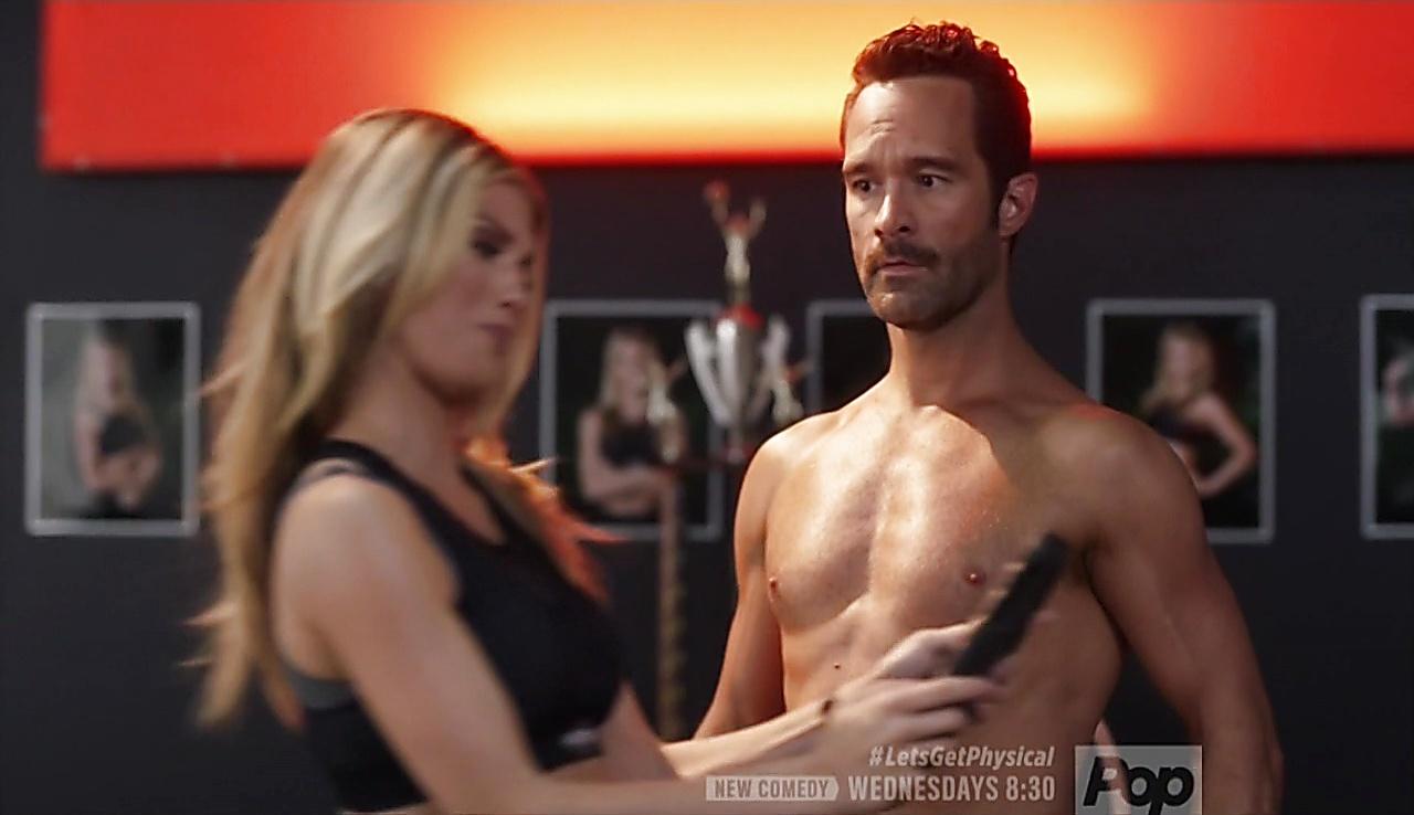 Chris Diamantopoulos sexy shirtless scene January 28, 2018, 9am