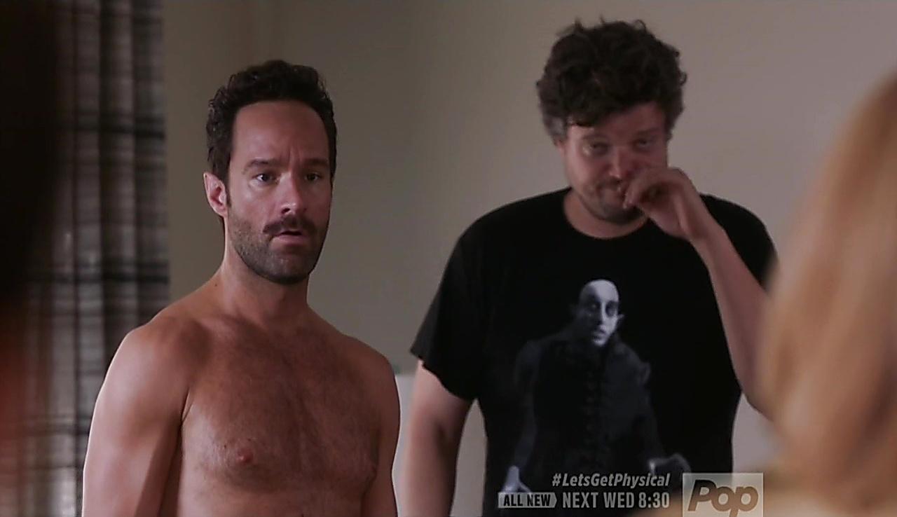 Chris Diamantopoulos sexy shirtless scene February 24, 2018, 11am