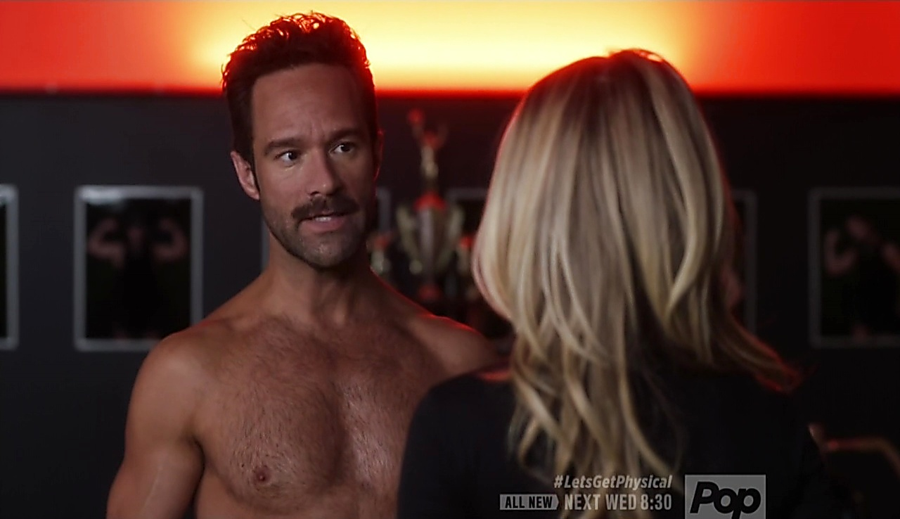 Chris Diamantopoulos sexy shirtless scene March 3, 2018, 11am