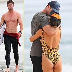 Chris Hemsworth latest sexy shirtless October 22, 2018, 9am