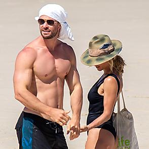 Chris Hemsworth latest sexy shirtless April 27, 2020, 6pm
