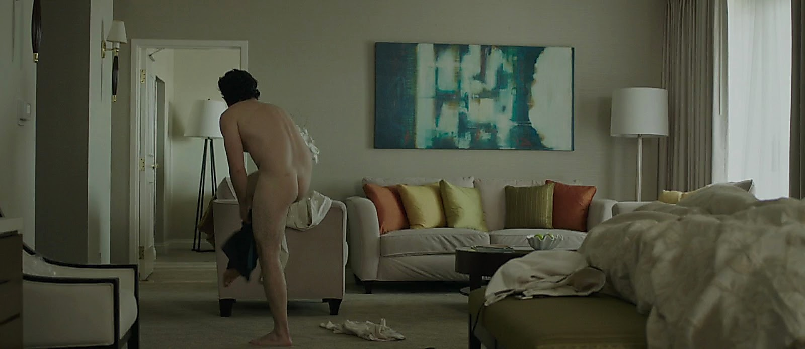 Chris Messina sexy shirtless scene April 12, 2017, 1pm