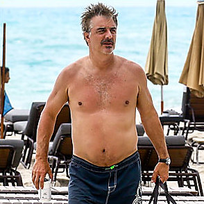 Chris Noth latest sexy shirtless May 15, 2018, 1am