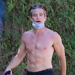 Chris Pine latest sexy shirtless March 21, 2021, 5pm