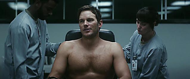Chris Pratt sexy shirtless scene July 2, 2021, 6am