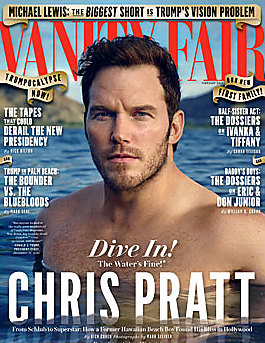Chris Pratt latest sexy shirtless January 3, 2017, 12pm