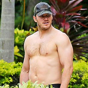 Chris Pratt latest sexy shirtless June 8, 2018, 2pm