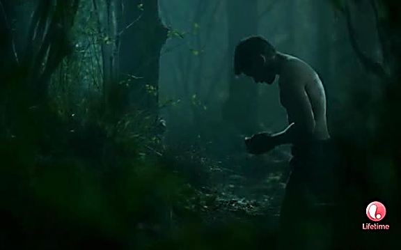 Christian Cooke sexy shirtless scene July 27, 2014, 9pm