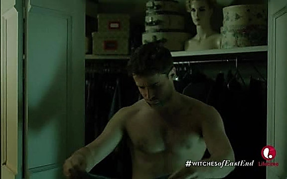 Christian Cooke sexy shirtless scene August 24, 2014, 9pm