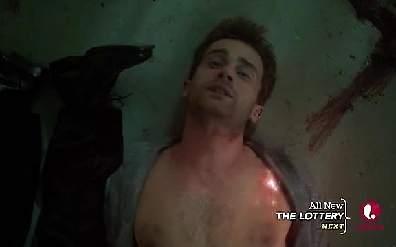 Christian Cooke sexy shirtless scene October 22, 2014, 8pm