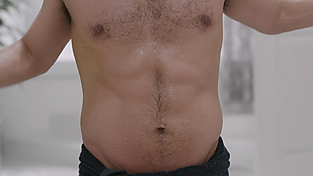 Christian Vasquez sexy shirtless scene March 1, 2021, 1pm