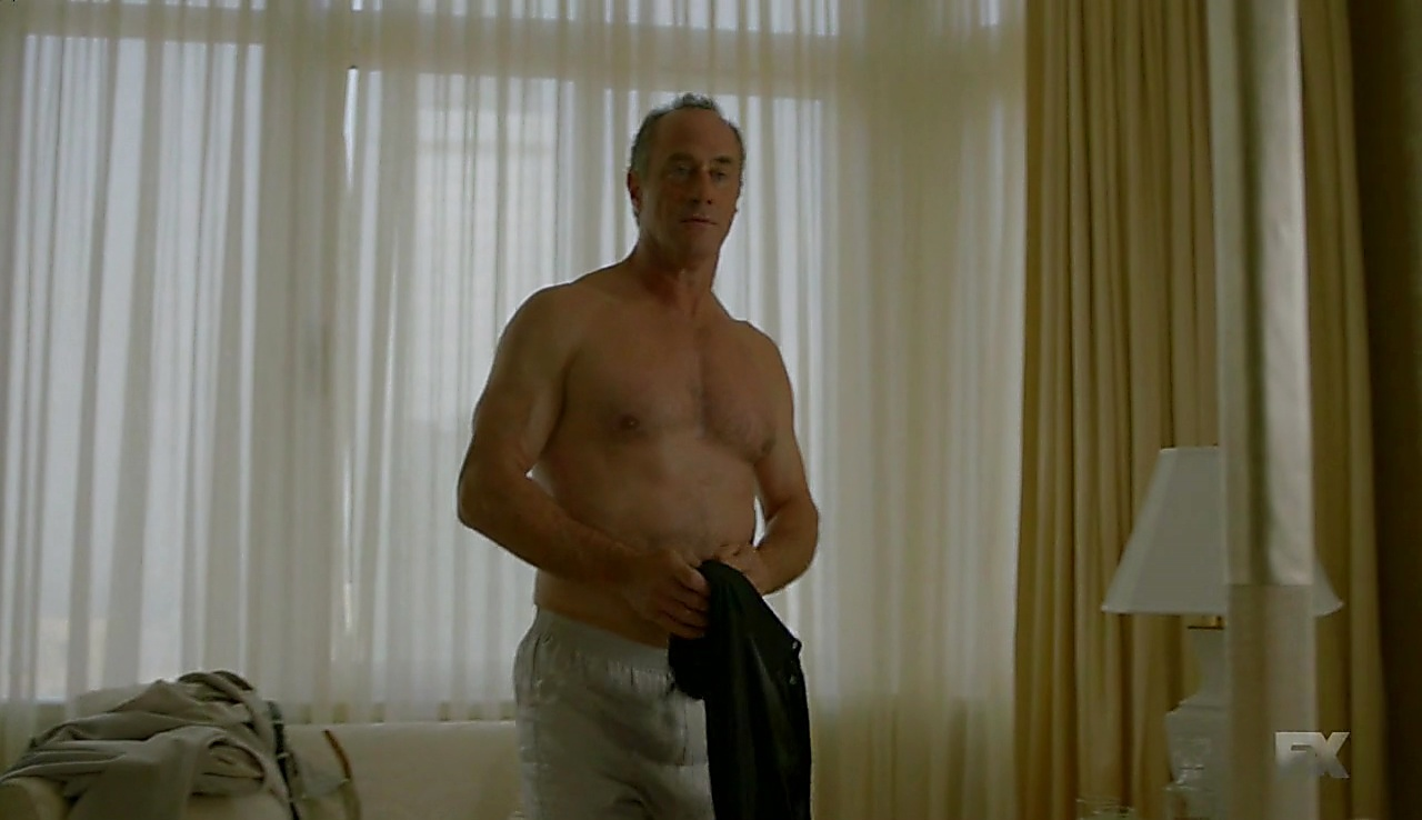 Christopher Meloni sexy shirtless scene July 16, 2018, 1pm
